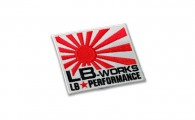 WP3-WH LB-WORKS 日章 ワッペン